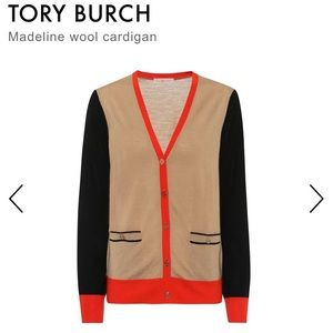 Tory Burch Madeline wool sweater! Worn once! XS